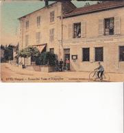 VITTEL - Bureau De Postes Et Télégraphes - Vittel Contrexeville