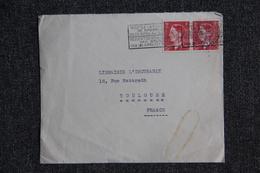 Lettre De BELGIQUE ( BRUXELLES ) Vers FRANCE ( TOULOUSE) - Covers & Documents