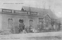 52 - Meuse - Hôtel Michel Magnifiquement Animé - ( Remise-écurie-café Moderne-restaurant ) - France