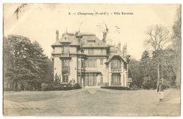 91-4 - Champrosay - Villa Kermina - Draveil
