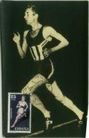 SPAIN - MAXIMUM CARD SPAIN - ATHLETICS - RUNNING - 1960s ( 2537 - Cartes Maximum