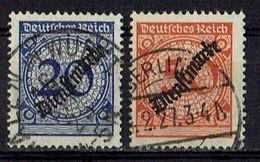 DR 1923 // Michel 102,103 O (019.019) - Service