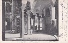 CARTOLINA - POSTCARD  - RAVENNA - S. VITALE - INTERNO - Ravenna