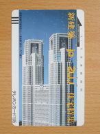 Japon Japan Free Front Bar, Balken Phonecard  / 110-7271 / Tokyo Metropolitan Government Building No. 1 - Japan