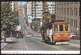 USA United States San Francisco California 1975 / Cable Car, Tramway - San Francisco