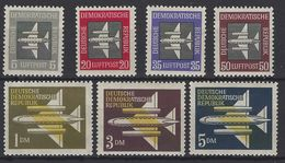 Alemania DDR Aereo 01/7 ** MNH. 1957 - [6] República Democrática