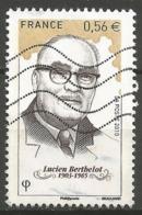 N° 4448 : Lucien Berthelot - Oblitéré - Oblitérés