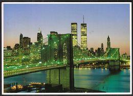 USA United States New York City 1992 / Brooklyn Bridge - Brooklyn