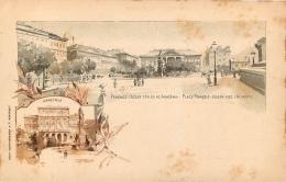 BUDAPEST PLACE FRANCOIS JOSEPH AVEC L'ACADEMIE - Hungary