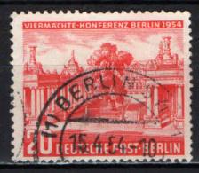 """BERLINO - 1954 - CONFERENZA DEI """"QUATTRO GRANDI"""" A BERLINO - USATO - [5] Berlin"""