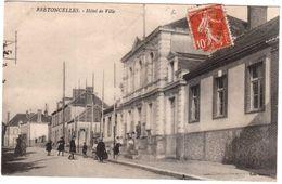 CPA ORNE.BRETONCELLES.HOTEL DE VILLE - France