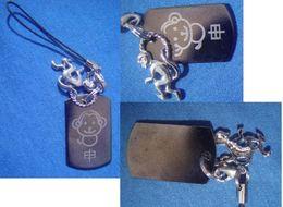 "Decorative Strap : Chinese Zodiac "" The Monkey "" - Charms"
