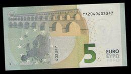 5 EURO Y002J5 GREECE - Y002 J5 - YA2040402347 - UNC - EURO