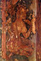 Ajanta - Female Figure - Detail Of A Mural Painting In Cave I - Formato Grande Non Viaggiata – E 3 - India