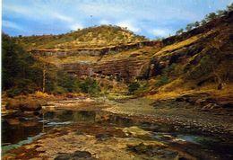 Ajanta - View Of The Buddhist Caves - Formato Grande Non Viaggiata – E 3 - India