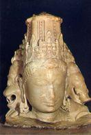 Bombay - Prince Of Wales Museum - Marble Head Of Vishnu As Vaikuntha - Formato Grande Non Viaggiata – E 3 - India