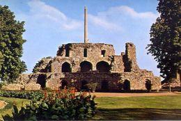 Delhi - Ruins Of The Kotla Firus Shah With The Mirath Asoka Pillar -formato Grande Non Viaggiata – E 3 - India