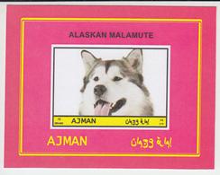 Dogs Ajman **, Imperforated Set Of 8 - Hunde