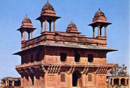 Fatehpur Sikri - Diwan I Khas - General View - Formato Grande Non Viaggiata – E 3 - India