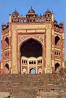 Fatehpur Sikri - The Triumphal Gate  Daland Darwaza - Formato Grande Non Viaggiata – E 3 - India