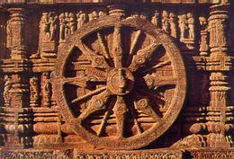 Kanarak - The Sun Temple - One Of The Twelve Wheels - Formato Grande Non Viaggiata – E 3 - India