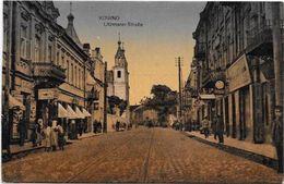 CPA Lituanie Lithuanie Lituania Non Circulé Kaunas  Commerces Kowno - Lithuania
