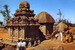 Mahabal Impuram - Arjuna And Daraupati Rathas - Formato Grande Non Viaggiata – E 3 - India