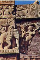 Sanchi - A Yakshi - Bracket Figurs On The Eastem Gateway - Formato Grande Non Viaggiata – E 3 - India