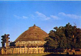 Sanchi - The Great Stupa - Formato Grande Non Viaggiata – E 3 - India