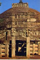 Sanchi - The Southern Gateway Of The Great Stupa - Formato Grande Non Viaggiata – E 3 - India