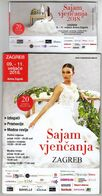 Croatia Zagreb 2018 / Arena / Wedding Fair / Entry Ticket + Brochure - Toegangskaarten