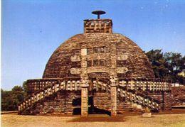 Sanchi - The Stupa - Formato Grande Non Viaggiata – E 3 - India