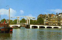 Amsterdam - Magere Brug Over De Amstel - Formato Grande Viaggiata – E 3 - Cartoline