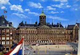Amsterdam - Palais Royal Dam - Formato Grande Viaggiata – E 3 - Cartoline