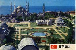 Istanbul - The Blue Mosque - And It.s Surrounding - Formato Grande Viaggiata – E 3 - Cartoline