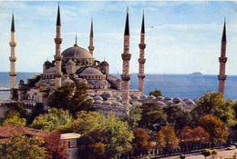 Istanbul - The Blue Mosque - Formato Grande Viaggiata – E 3 - Cartoline