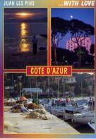 Juan Les Pins - Cote D'azur - Formato Grande Viaggiata Mancante Di Affrancatura – E 3 - Cartoline