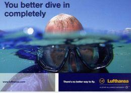 Lufthansa - Formato Grande Non Viaggiata – E 3 - Cartoline