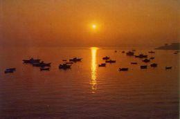Mera - Oleiros - La Coruna Puesta Del Sol - Formato Grande Viaggiata – E 3 - Cartoline