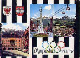 Olympiastadt Innsbruck - Formato Grande Viaggiata Mancante Di Affrancatura – E 3 - Cartoline