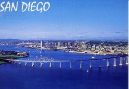 San Diego - Coronado Bay Bridge - Formato Grande Viaggiata – E 3 - Cartoline