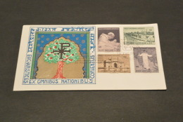 PJ2185- FDC 1964 - Vatican City - CONGRESSO EUCARISTICO IN INDIA - BOMBAY- Paulus VI Apostolicus - Popes