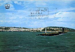 Tanger - Vista Desde El Mar - Formato Grande Viaggiata – E 3 - Cartoline