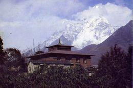 Thyang Boche Gumpa - Nepal - Formato Grande Viaggiata – E 3 - Cartoline