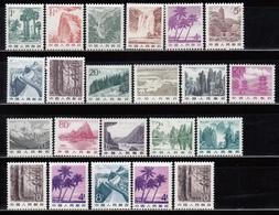 1981 MICHEL Nº 1726 / 1742 , 1744y , 1831x / 1832x ,1831y / 1831y MNH - 1949 - ... República Popular