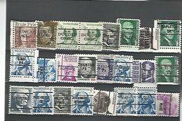 50392 ) Collection Precancel - Estados Unidos