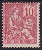 V/Verso ** N° 112 Neuf ** - 1900 /1901 - 1900-02 Mouchon