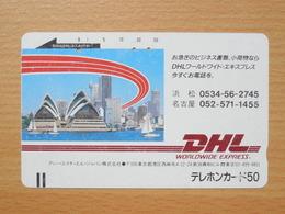 Japon Japan Free Front Bar, Balken Phonecard  / 110-7392 / DHL - Japan