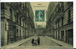 75 PARIS - RUE ROBERT LE COIN BELLE ANIMATION ENFANTS - Places, Squares