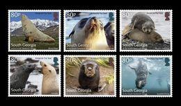 South Georgia 2018 Mih. 712/17 Fauna. Antarctic Fur Seals MNH ** - South Georgia